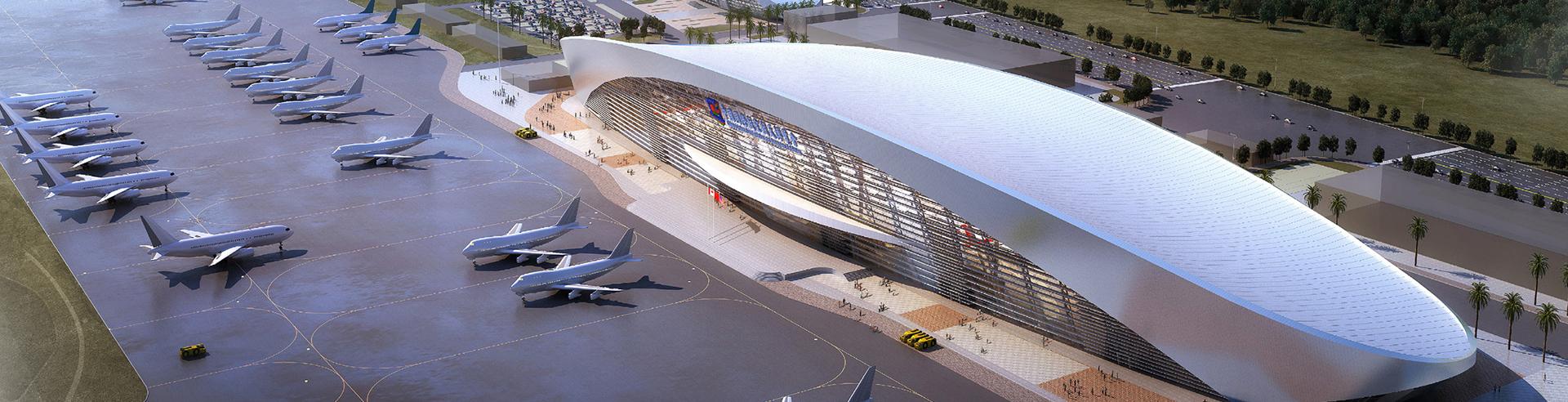 珠海国际航展中心主展馆