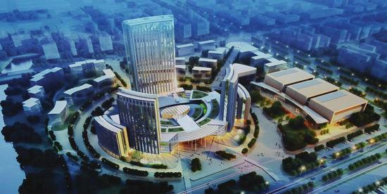 广西体育中心主媒体中心及迎宾馆综合体